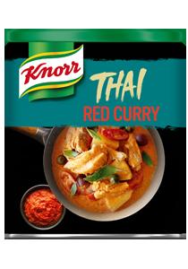 Knorr Pasta de Curry Rojo lata 850g - Iníciate en el auténtico sabor asiático de forma fácil con Knorr.
