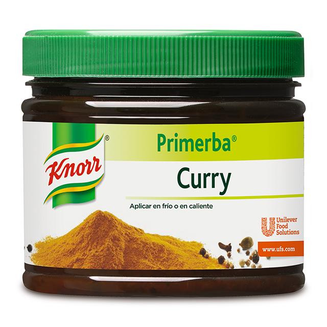 Knorr Primerba de Curry bote de 340g Sin Gluten -