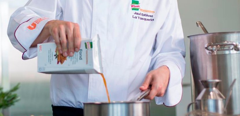 Knorr Profesional Fondo de Carne Líquido Sin Gluten Brik 1L -