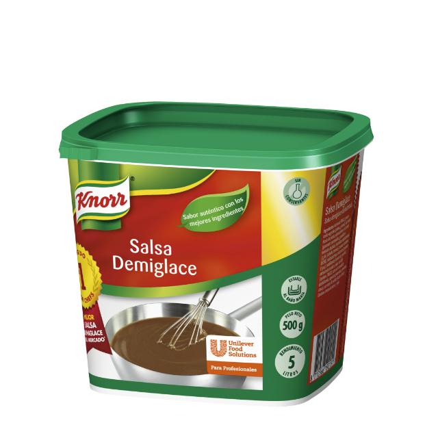 Knorr Salsa Demiglace deshidratada para carnes bote 500g