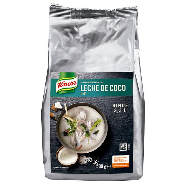 Leche de Coco Deshidratada Knorr  - Actualiza tus platos tradicionales, con el auténtico sabor asiático de Knorr