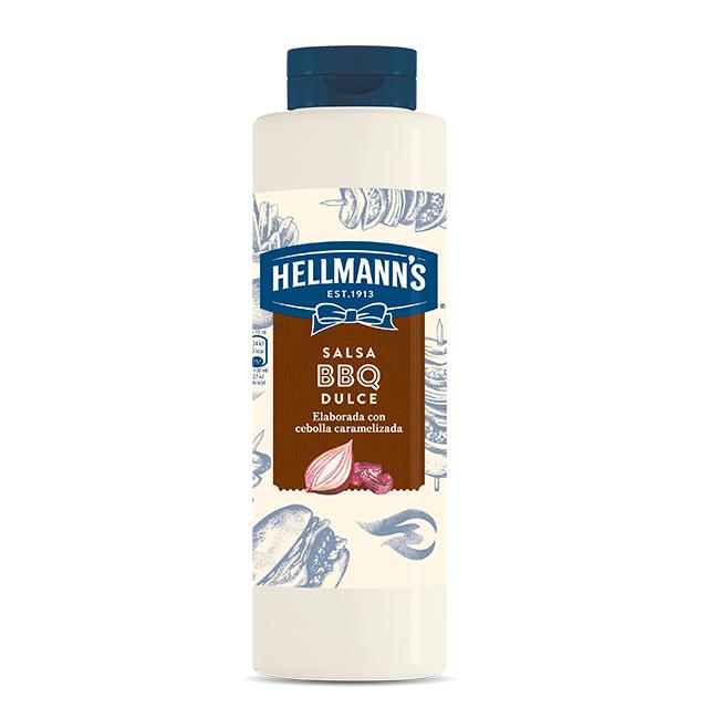 Salsa Barbacoa Dulce Hellmann's botella 792ML