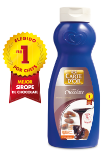 Sirope de chocolate Carte d'Or botella 1L