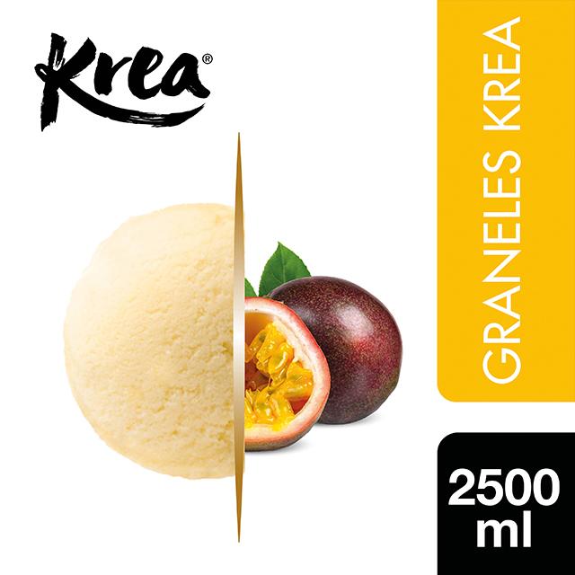 Sorbete de Fruta de la Pasión Krea 2,5L - El helado de Fruta de la pasión de Krea es un sabor tropical sorprendente para tu carta
