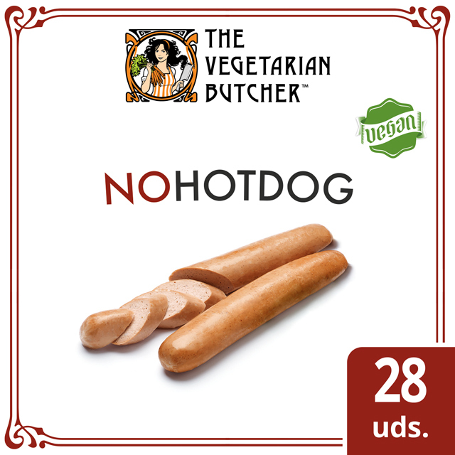 The Vegetarian Butcher NoHotDog caja 28 x 75gr