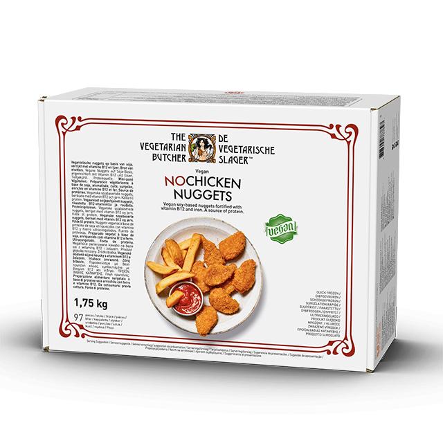 The Vegetarian Butcher Nuggets Nopollo caja 1,75kg