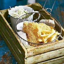 Louisiana fish and fries