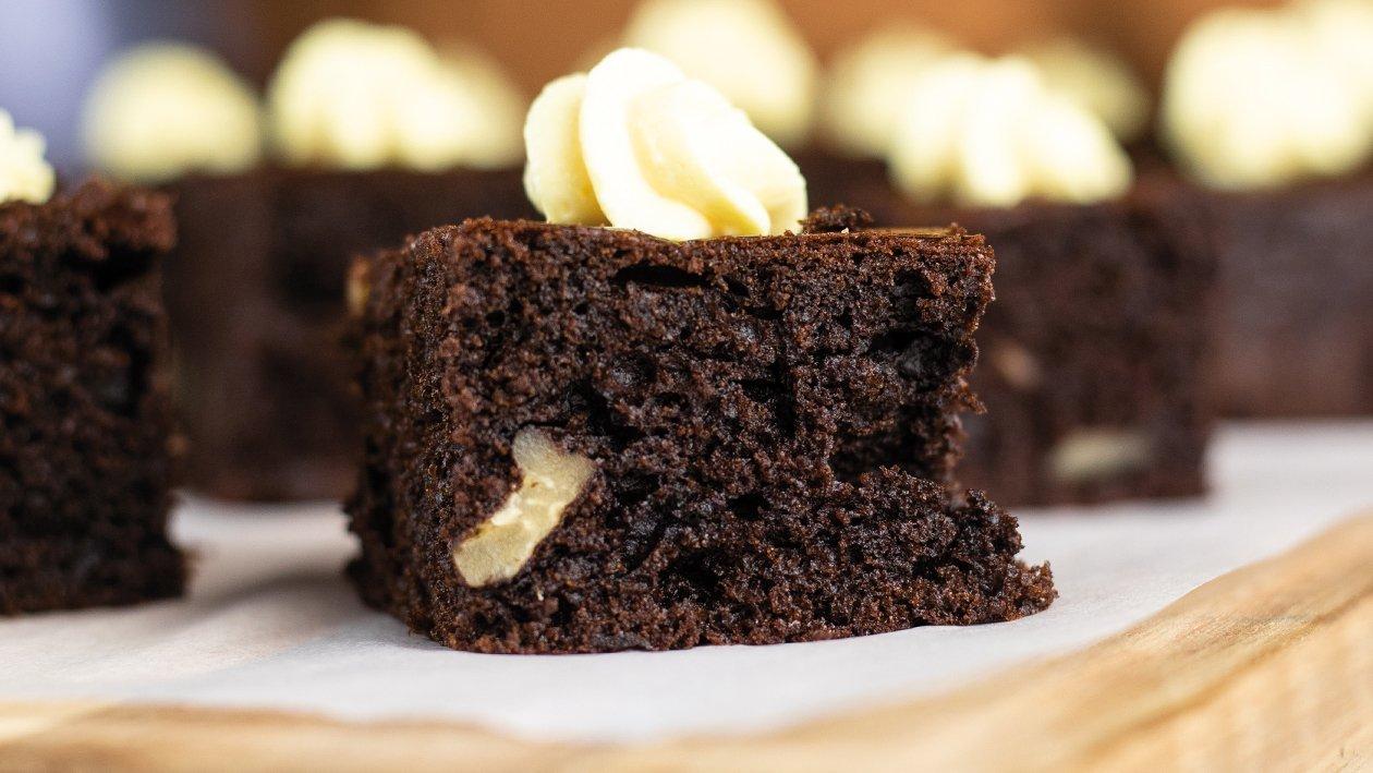Brownie de chocolate de rápida preparación