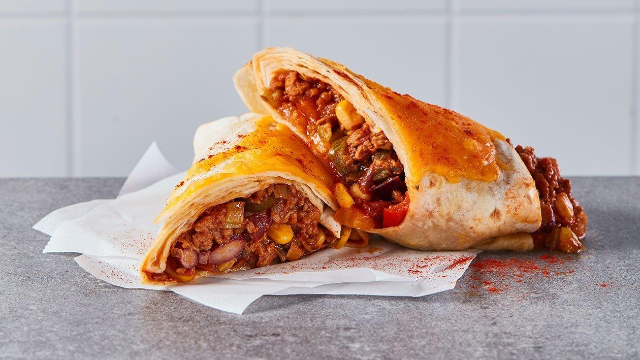 Burrito Mexicano de NoCarne picada
