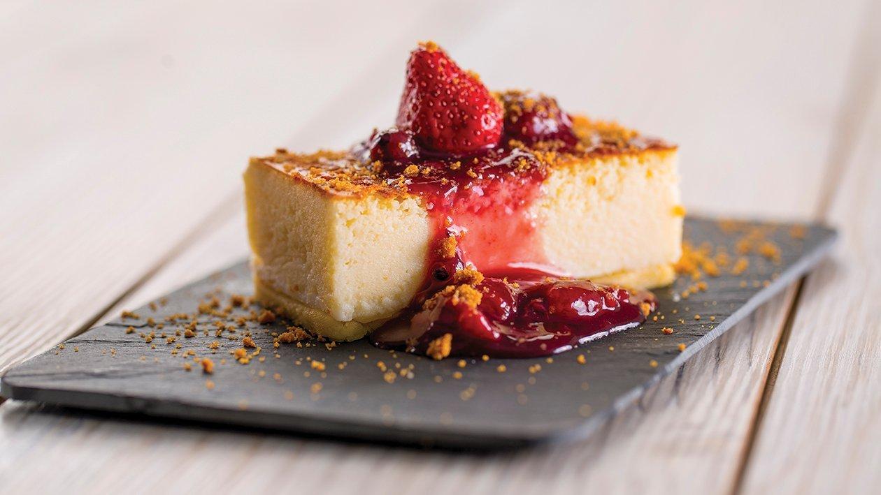 "Cheesecake en placa gastronorm ""Hoteles-CPUS"""
