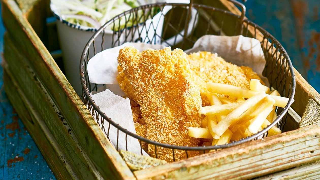 Louisiana fish and fries