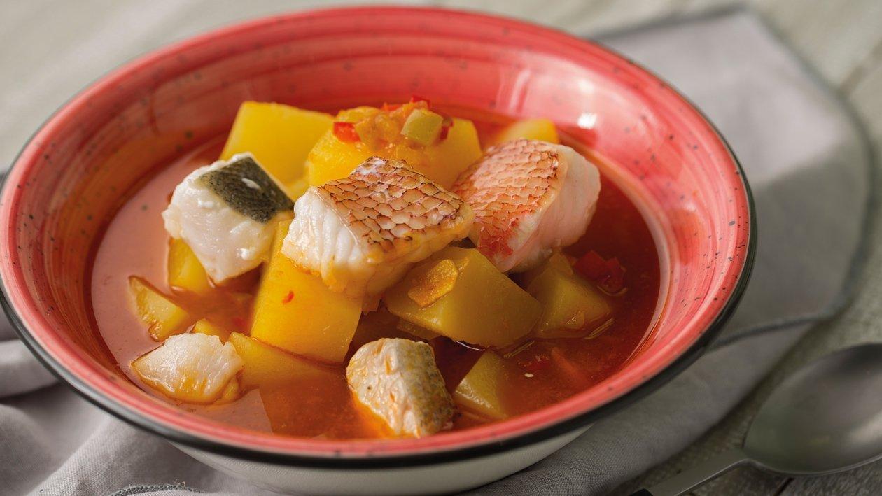 Marmitako de pescados