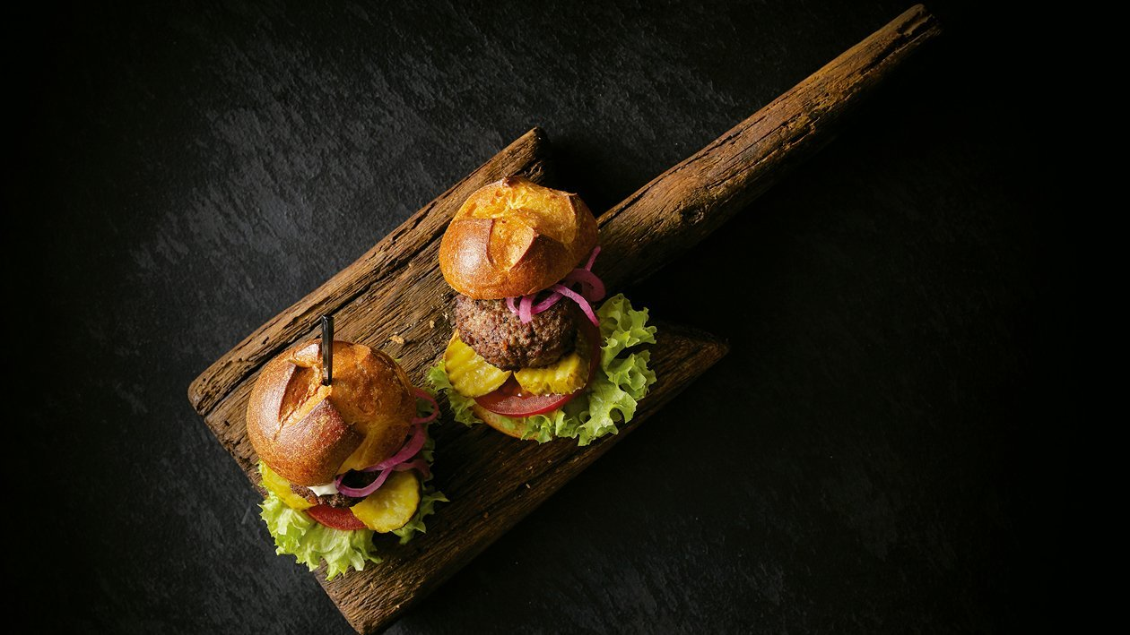 Mini burger de Wagyu