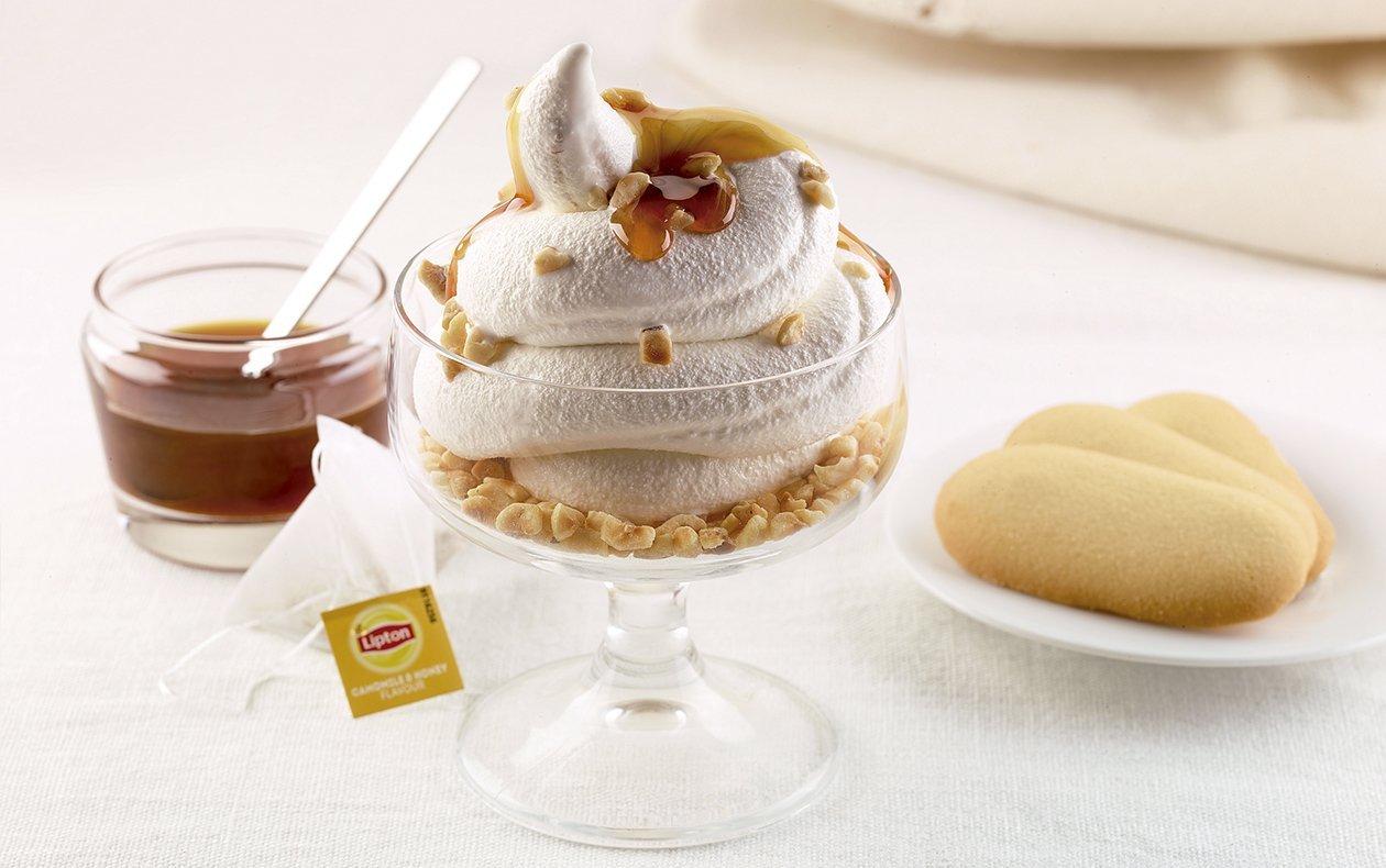Panna Cotta de manzanilla y miel