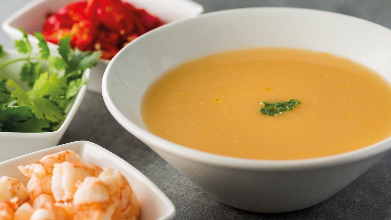 Sopa thai de marisco