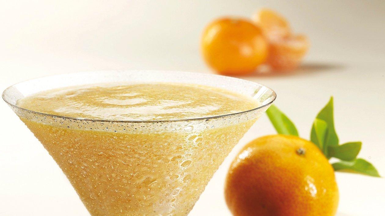 Sorbete de mandarina y mango