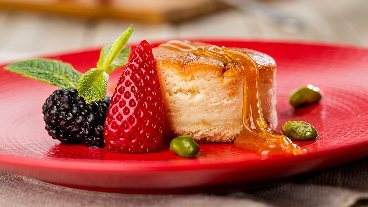 Tarta de queso y toffe sin gluten