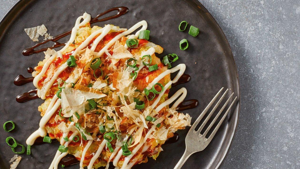 Tortitas japonesas (Okonomiyaki)
