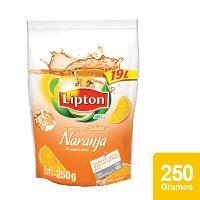Lipton® Polvo para preparar Bebida sabor Naranja 250 g