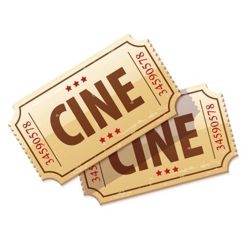 Boleto doble para el cine -