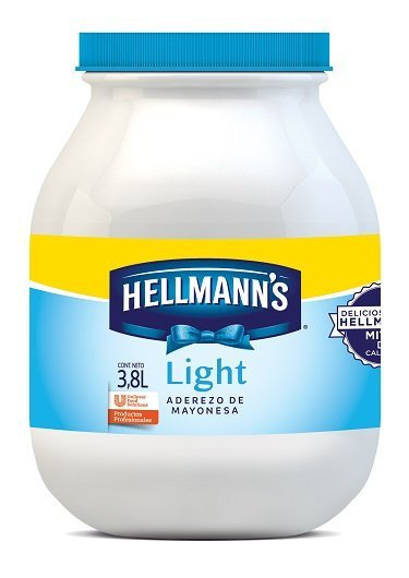 Hellmann's® Mayonesa Light 3.8 L