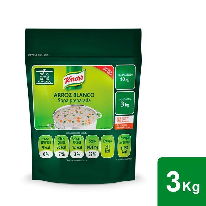 Knorr® Arroz Blanco 3 Kg