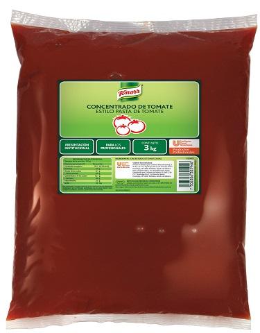 Knorr® Concentrado tipo pasta de tomate 3 Kg