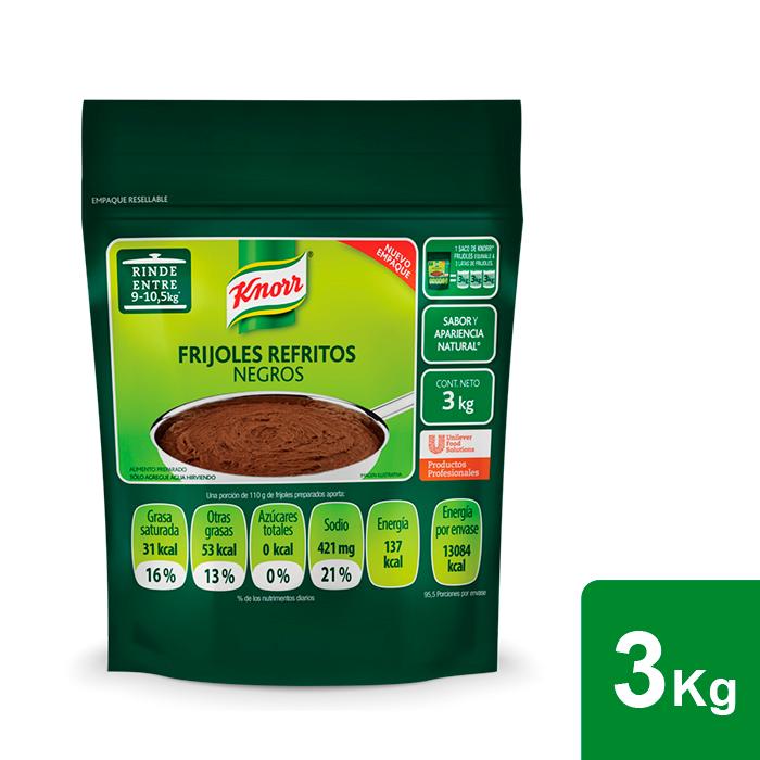 Knorr® Frijoles Negros 3 Kg