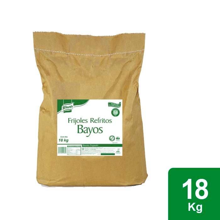Knorr® Frijoles Refritos Bayos 18 Kg  -