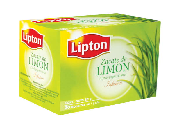 Lipton® Infusión Zacate Limón