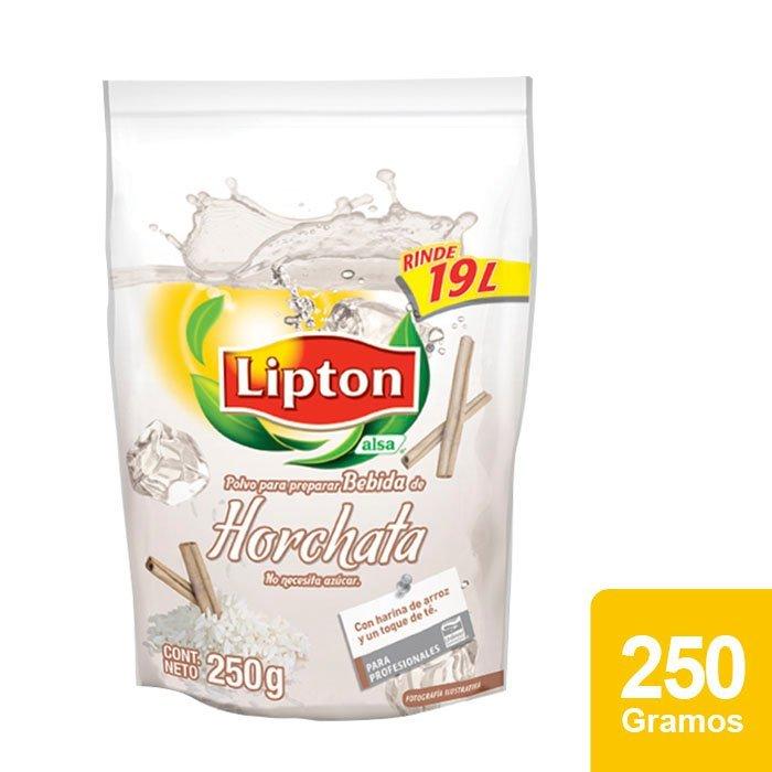 Lipton® Polvo para preparar Bebida sabor Horchata 250 g -