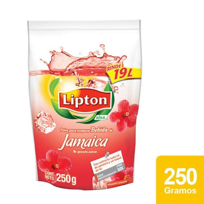 Lipton® Polvo para preparar Bebida sabor Jamaica 250 g -