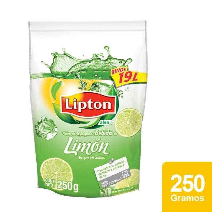 Lipton® Polvo para preparar Bebida sabor Limón 250 g