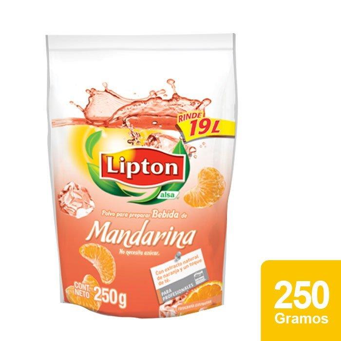 Lipton® Polvo para preparar Bebida sabor Mandarina -