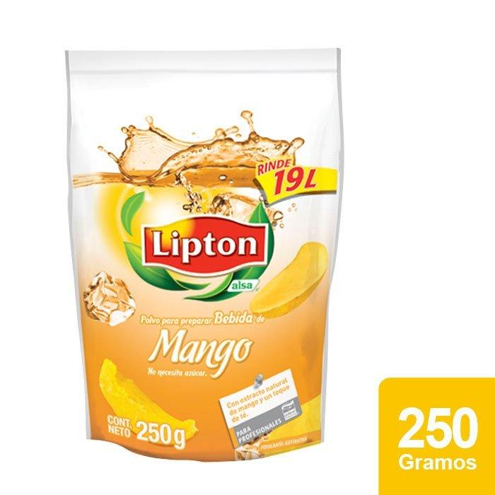 Lipton® Polvo para preparar Bebida sabor Mango 250 g -