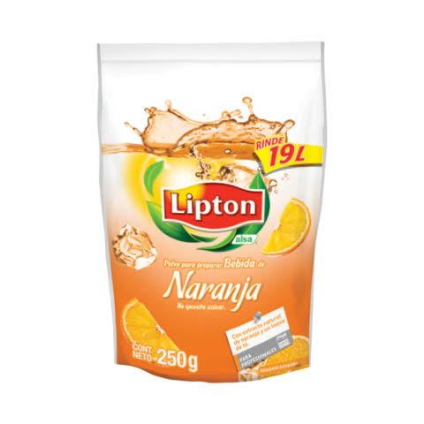 Lipton® Polvo para preparar Bebida sabor Naranja