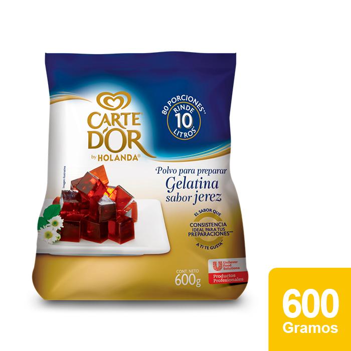 Carte D'Or® Gelatina de Jerez 600 g