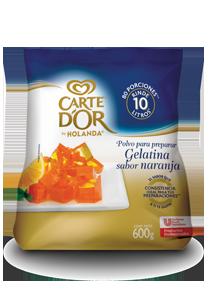 Carte D'Or® Gelatina de Naranja 600 g