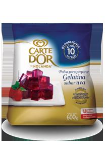 Carte D'Or® Gelatina de Uva 600 g - Ofrece gran sabor, variedad y el mejor rendimiento para tu negocio con Gelatinas Carte D'Or®.