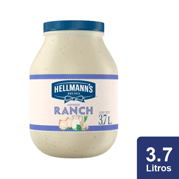Hellmann's® Aderezo Ranch 3.7 L - Aderezos Cremosos Hellmanns, un nuevo toque de sabor para tus platillos