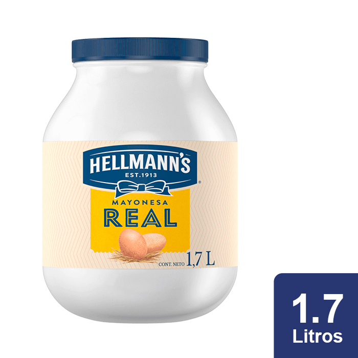 Hellmann's® Mayonesa Real 1.7 L