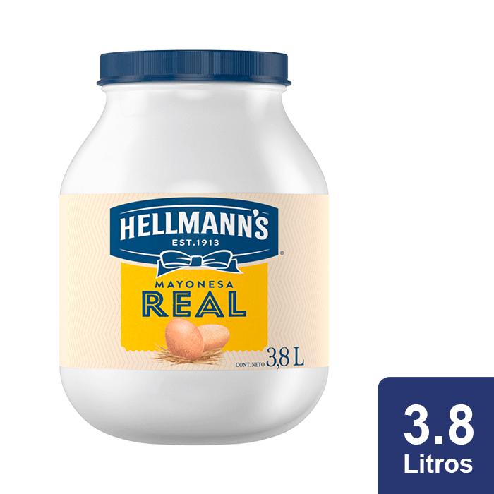 Hellmann's® Mayonesa Real 3.8 L