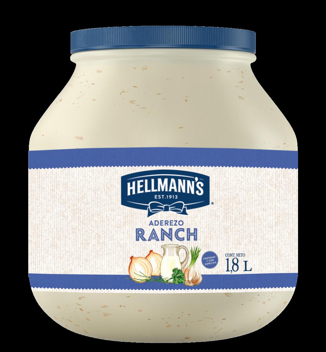 Hellmann's® Aderezo Ranch 1.8 L