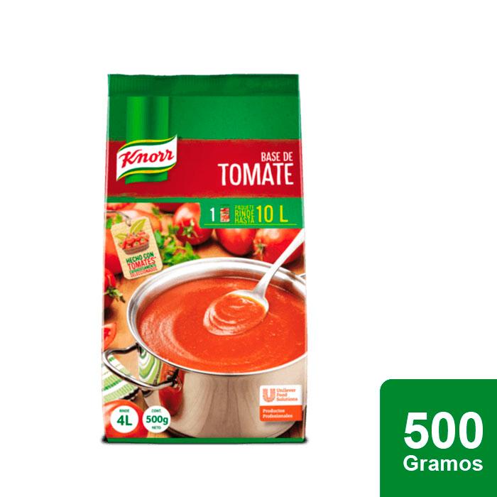 Knorr® Base de Tomate 500 g - Knorr® Base de Tomate te brinda el mejor balance de color, acidez y consistencia en un solo paso.