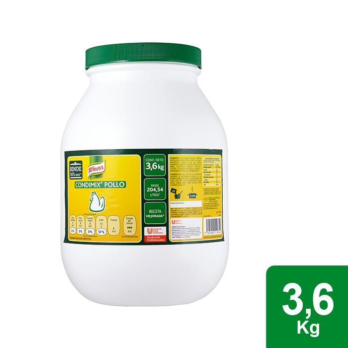 Knorr® Condimix Pollo 3.6 Kg - Knorr Condimix te ayuda a resaltar el sabor de tus platillos al mejor precio