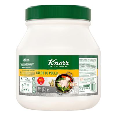 Knorr® Professional Caldo de Pollo 1.85 Kg - Knorr® Professional Caldo de Pollo 1.85 kg, receta con hierbas y especias seleccionadas e inigualable sabor a pollo.