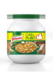 Knorr® Suiza Caldo de Pollo 1.5 Kg - Knorr® Suiza lo sabe, por eso mejora su receta con hierbas y especias seleccionadas y su inigualable sabor a pollo.