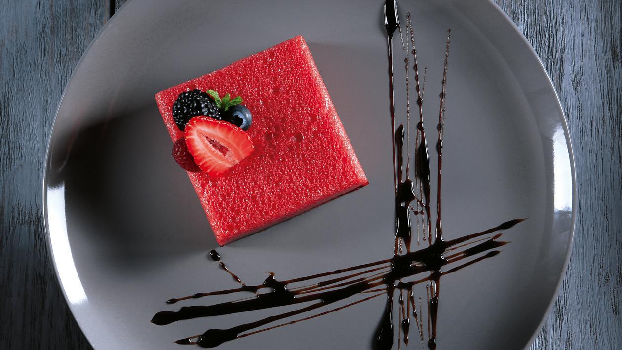 Gelatina de Frutos Rojos