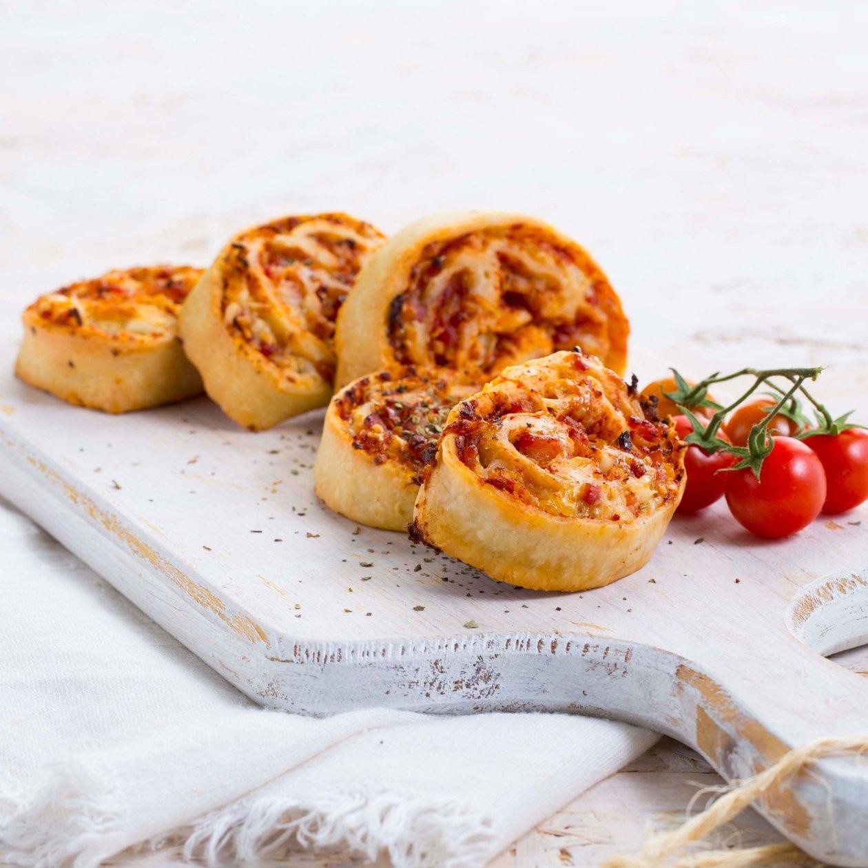 Rol de tomate y queso de cabra