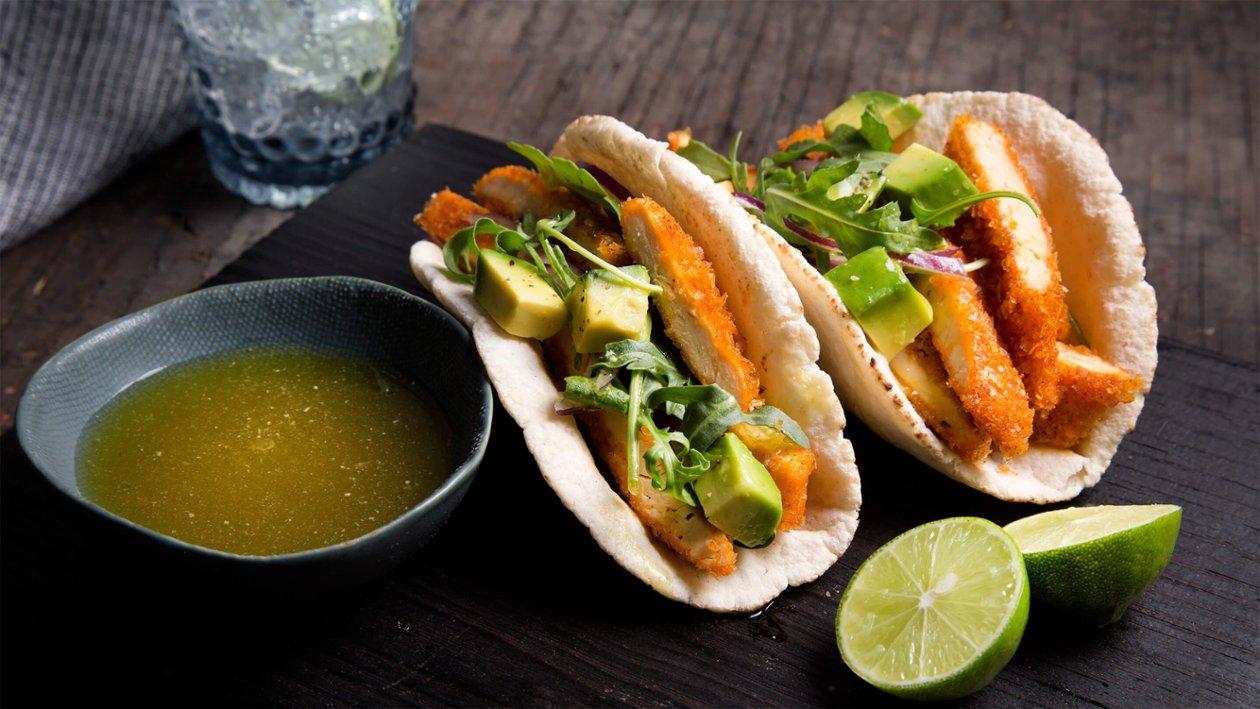 Taco Árabe con Pechuga Crispy